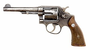 44 special revolver by Smith and Wesson