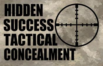 Banner for Hidden Success Tactical Concealment