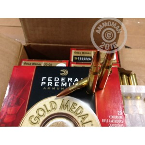 Picture of 30.06 FEDERAL PREMIUM 168 GRAIN SPG SIERRA MatchKing BTHP (200 ROUNDS)