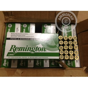 Picture of .38 SPECIAL REMINGTON 130 FULL METAL JACKET (500 ROUNDS)