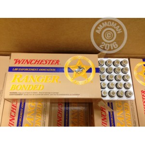 Picture of .40 S&W WINCHESTER RANGER 165 GRAIN BONDED JHP (500 ROUNDS)