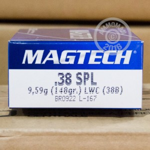 Picture of 38 SPECIAL MAGTECH 148 GRAIN WC (50 ROUNDS)