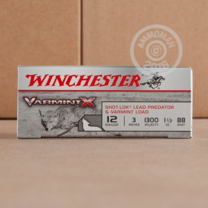 "Picture of 12 GAUGE WINCHESTER VARMINT-X 3"" 1 1/2 OZ. BB SHOT (100 ROUNDS)"
