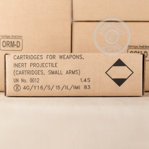 Picture of 5.56x45MM IMI 55 GRAIN FMJ M193 (30 ROUNDS)