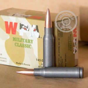 Picture of .308 WIN WOLF WPA 145 GRAIN FULL METAL JACKET (500 ROUNDS)