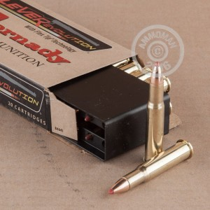 Picture of 30-30 HORNADY LEVEREVOLUTION 160 GRAIN JHP (20 ROUNDS)