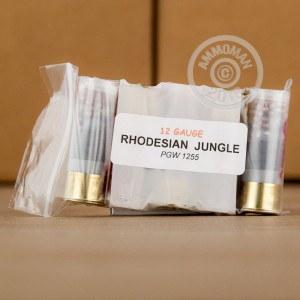 Picture of 12 GAUGE RHODESIAN JUNGLE AMMO (5 ROUNDS)