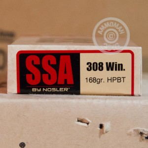 Picture of .308 WIN SILVER STATE ARMORY 168 GRAIN SIERRA OTM (20 ROUNDS)
