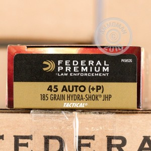 Picture of 45 ACP +P FEDERAL HYDRA 185 GRAIN JHP (1000 ROUNDS)