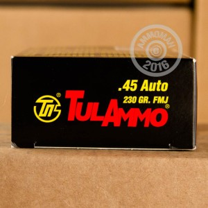 Picture of 45 ACP TULA 230 GRAIN FULL METAL JACKET (500 ROUNDS)