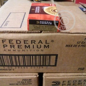 """Picture of 12 GAUGE FEDERAL VITAL-SHOK 2-3/4"""" 00 BUCK (5 ROUNDS)"""