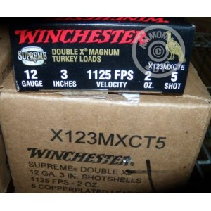 "Picture of 12 GAUGE WINCHESTER DOUBLE-X 3"" #5 MAGNUM TURKEY LOAD (10 ROUNDS)"