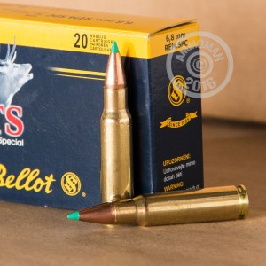 Picture of 6.8MM SPC SELLIER & BELLOT 110 GRAIN PT (20 ROUNDS)