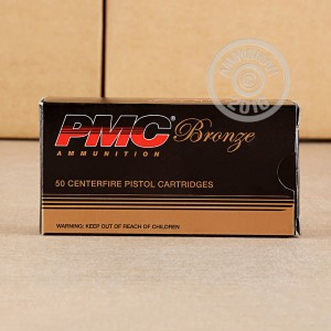Picture of 9MM LUGER PMC BRONZE 115 GRAIN JHP (50 ROUNDS)