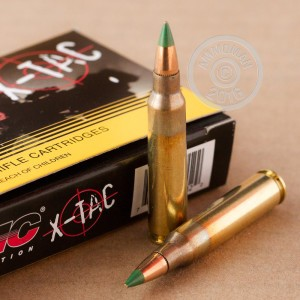 Picture of 5.56x45MM PMC X-TAC GREEN TIP NATO 62 GRAIN FULL METAL JACKET (20 ROUNDS)