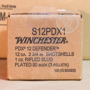 "Picture of 12 GAUGE WINCHESTER PDX1 2-3/4"" 1 OZ. #00 BUCK (10 ROUNDS)"
