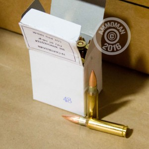 Picture of 308 WINCHESTER PRVI PARTIZAN BATTLE PACK 145 GRAIN FMJ-BT (200 ROUNDS)