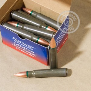 Picture of 8MM MAUSER HOTSHOT 170 GRAIN FMJ (720 ROUNDS)