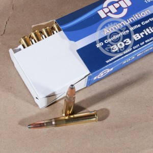 Picture of .303 BRITISH BY PRVI PARTISAN 150 GRAIN SOFT POINT (500 ROUNDS)