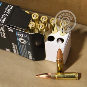 Picture of 300 AAC BLACKOUT PNW ARMS 155 GRAIN NOSLER BTHP (20 ROUNDS)