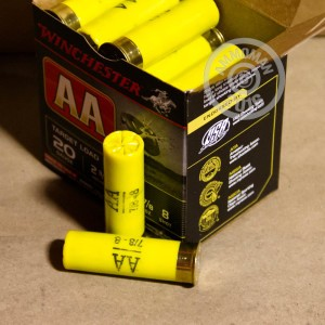 """Picture of 20 GAUGE WINCHESTER AA 2-3/4"""" #8 SHOT (25 ROUNDS)"""