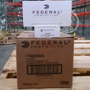 Picture of 40 S&W FEDERAL CLASSIC 180 GRAIN HI-SHOK JHP (50 ROUNDS)