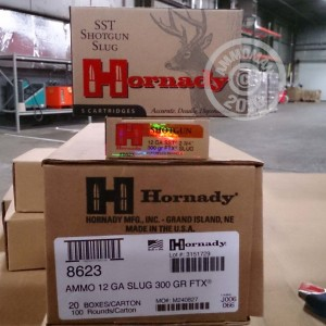 "Picture of 12 GAUGE HORNADY SST SABOT 2-3/4"" SLUG (5 ROUNDS)"