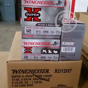 """Picture of 12 GAUGE WINCHESTER SUPER-X 2-3/4"""" #7.5 SHOT (25 ROUNDS)"""