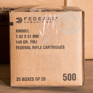 Picture of 7.62X51MM FEDERAL 149 GRAIN FMJ (20 ROUNDS)