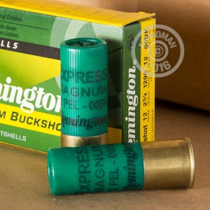 "Picture of 12 GAUGE REMINGTON EXPRESS MAGNUM 2-3/4"" 00 BUCK (250 ROUNDS)"