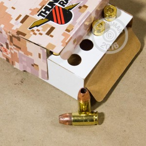Picture of 9MM LUGER +P CORBON THUNDER RANCH 115 GRAIN DPX (20 ROUNDS)