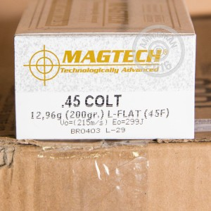 Picture of 45 LONG COLT MAGTECH 200 GRAIN LFN (50 Rounds)