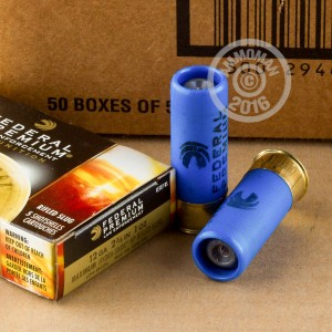 """Picture of 12 GAUGE 2-3/4"""" FEDERAL TACTICAL SLUGS #LE127RS (250 ROUNDS)"""