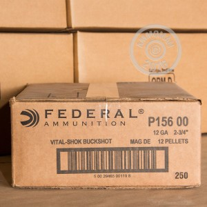 "Picture of 12 GAUGE FEDERAL VITAL-SHOK 2-3/4"" 00 BUCK (5 SHELLS)"