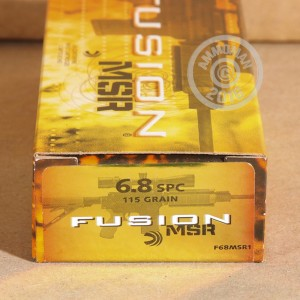 Picture of 6.8MM SPC FEDERAL FUSION 115 GRAIN SP (20 ROUNDS)