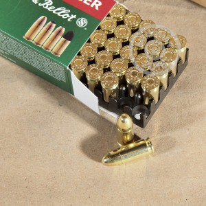 Picture of 9MM LUGER SELLIER & BELLOT 115 GRAIN FMJ (1000 ROUNDS)