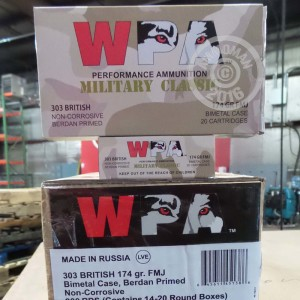 Picture of 303 BRITISH WOLF MILITARY CLASSIC 174 GRAIN FMJ (20 ROUNDS)