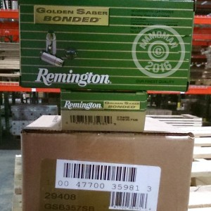 Picture of 357 SIG REMINGTON GOLDEN SABER 125 GRAIN BJHP (50 Rounds)