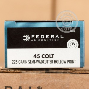 Picture of 45 COLT FEDERAL CHAMPION 225 GRAIN SWC (20 ROUNDS)