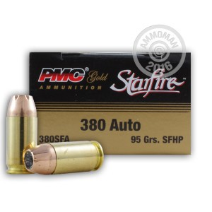Picture of .380 ACP PMC STARFIRE 95 GRAIN JHP (20 ROUNDS)