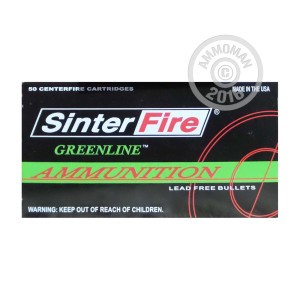 Picture of 38 Special - 110 Grain Frangible - SinterFire Greenline - 50 Rounds