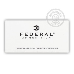 Picture of 38 SPECIAL +P FEDERAL 158 GRAIN LSWCHP (50 ROUNDS)
