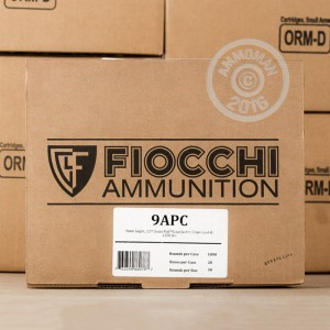 Picture of 9MM FIOCCHI 124 GRAIN TRUNCATED FMJ (50 ROUNDS)