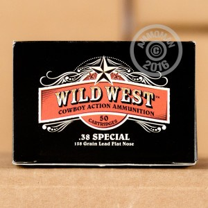 Picture of 38 SPECIAL SELLIER & BELLOT WILD WEST 158 GRAIN LFN (1000 ROUNDS)
