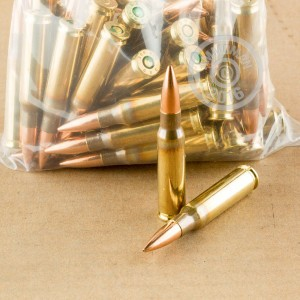 Picture of 308 WINCHESTER MIXED BRASS AND NICKEL PLATED (50 ROUNDS)