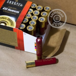 "Picture of .410 BORE FEDERAL PREMIUM 2-1/2"" 000 BUCK (200 SHELLS)"