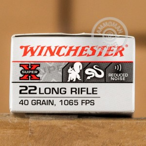Picture of 22 LR - 40 Grain Subsonic LHP - Winchester Super-X - 50 Rounds
