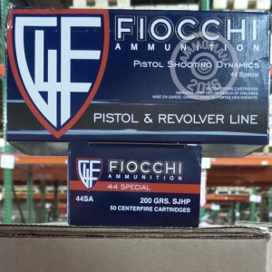 Picture of 44 SPECIAL FIOCCHI 200 GRAIN SJHP (50 ROUNDS)