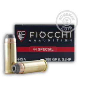 Picture of 44 SPECIAL FIOCCHI 200 GRAIN SJHP (1000 ROUNDS)