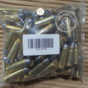 Picture of 45 COLT MIXED BRASS AND NICKEL PLATED (100 ROUNDS)
